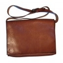Bag in brown leather