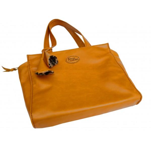 Orange bag - Game Leather